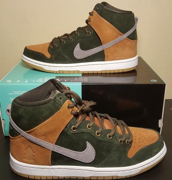 wholesale dealer cd8b2 7e2aa NEW Nike SB Dunk High PRM QS Men s Sz 8. M 5a96461d9a9455bbd26e6447